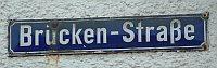 Bruckenstrasse_Schild